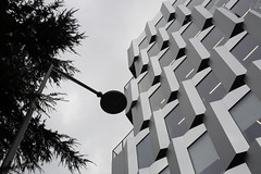 géométrie à Gentilly (Rudy Pilarski) Tags: gentilly paris urbain urban urbano geometry géométrie géométria géométrique graphique ville city ciudad capitale forme form nikon nb bw bâtiment building monochrome france francia capital europe europa tree architecture architectura architectural arbre lampadaire
