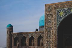 Samarkand Blue (solas53) Tags: samarkand blue building architecture islamic madrassah historic