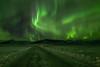 Road Aurora (jasty78) Tags: northernlights auroraborealis aurora night stars snow liljaguesthouse road hofn iceland nikond810 samyang14mmf28 14mm