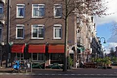 Spaarndammerstraat (rob.brink) Tags: amsterdam nederland holland netherlands mokum harbour harbor haven houthavens spaarndammerbuurt het schip michel de klerk architecture urbanism urban city water life orange blue