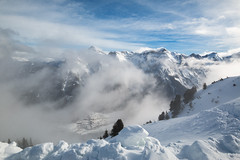 Hike in the clouds (Piotr Grodzicki) Tags: austria alps mountains winter tirol