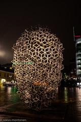 Narinkka square (aixcracker) Tags: helsinki helsingfors kamppi kampen narinkkatori narinkatorget suomi finland november marraskuu evening kväll ilta nikond500 20mm
