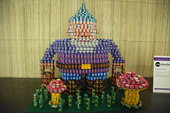 Gnome More Hunger (thoth1618) Tags: ny nyc newyork newyorkcity lowermanhattan lower manhattan can cans canstruction brookfield brookfieldplace