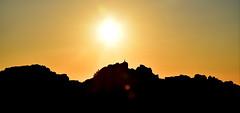 """Bites of light""(4): Light up my day! (PURIFM) Tags: silhouette sunrise sun light landscape paisaje sol amanecer luz nature"