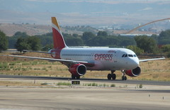 Iberia Express EC-LEA Airbus A320-214 flight IB3853 arrival from Lanzarote ACE at Madrid MAD Spain (Cupertino 707) Tags: iberia eclea airbus a320214 flight ib3853 arrival from lanzarote ace madrid mad spain iberiaexpess