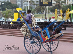 Durban Rickshaw (Jan-Krux Photography) Tags: durban southafrica afrika suedafrika kwazulu natal kwazulunatal rickshaw people leute menschen beachfront strandpromenade travel reisen olympus omd em1mkii