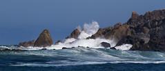 Breaking the Waves (Keith Midson) Tags: trialharbour tasmania waves wave water sea ocean 400mm coast shore shoreline rocks australia seas