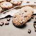 Vegan spelt flour chocolate chip cookies