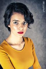 #girl #studio #mustard #dress #portrait #brunette #portraiture #face #redlips #curly #makeup #gwen #woman #pinup #pin-up (fotow.graph) Tags: studio makeup dress redlips woman curly gwen pinup girl portrait mustard face pin brunette portraituregwen