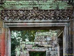 Angkor Thom – 23 (Roy Prasad) Tags: green cambodia asia khmer travel architecture temple angkorwat prasad royprasad hindu buddhist ruins ancient phaseone xf schenider art arch door sculpture dancing women