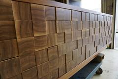 Endgrain Cabinet Detail