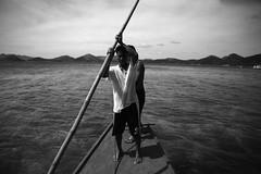 Coron.Philippines (VincenzoMonacoo) Tags: canon 6d tamron 2470 philippines palawan coron islands natives bangka adventure travel leica nikon bw