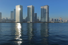 Tokyo Waterfront (seiji2012) Tags: 晴海 東京 豊洲 ウオーターフロント ビルディング tokyo japan harumi toyosu waterfront building residence reflection