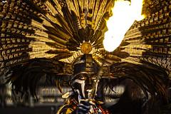 light on darkness (Mau Silerio) Tags: tribal tradition traditional tribe mayan fire fuoco feathers makeup costume sony alpha dance dancer dancing danza dark night model modelling models modellling posing chiapas prehispanic ritual ethnic portrait