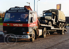 C955DYF VOLVO FL7 (Mark Schofield @ JB Schofield) Tags: road transport haulage freight truck wagon lorry commercial vehicle hgv lgv haulier contractor