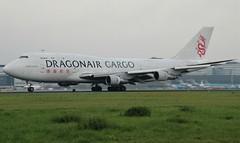 B-KAC Boeing 747-3H6SF Dragonair Cargo @ AMS (Denmen Aviation Photography) Tags: boeing747 ams eham dragonair