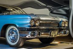 Classic (katrin glaesmann) Tags: volkswagen vw autostadt wolfsburg cadillaceldorado 1959 harleyearl zeithaus zeithausmuseum chrome classiccar whitesidewalltyres whitesidewalltires
