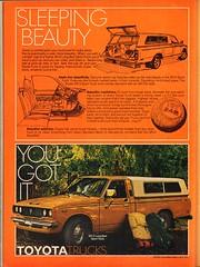 1978 Toyota SR-5 Truck Advertisement Playboy September 1978 (SenseiAlan) Tags: 1978 toyota sr5 truck advertisement playboy september