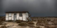 Le tourment.. (Fred&rique) Tags: lumixfz1000 photoshop hdr aude maison cabane orage tourmente paysage nature architecture abandonnée abandon