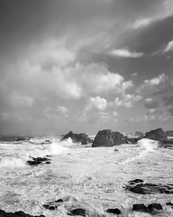 Stormy day in brittany (robinantho) Tags: gouffre tregor plougrescant côte mer storm tempête seascape brittany bretagne