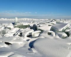 Arctic Lake Ice (Jay Janssen) Tags: lake winnebago oshkosh wisconsin winter ice shove cold park menominee