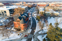 2019 - January - CHS - Snowy Winter Break Sunday-152-HDR.jpg (ISU College of Human Sciences) Tags: building winter forker campus buildings foodsciencebuilding morrill snow lagomarcino ringoflife drone campanile scenic palmer fshn chs mackay beauty