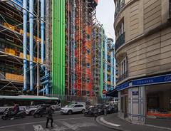 Centre Pompidou IV (Jack Landau) Tags: centre pompidou architecture postmodern structure building renzo piano richard rogers paris france europe eu canon 5d jack landau