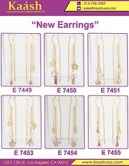 Stylish Design Long Hanging Earrings For women & Girls (kaashusa) Tags: freeshippingtomexicoondollar500 namependant czrings czearrings newitems wholesalejewelry orolaminado jewelry watches czwatches digitalwatches chains mexico pendant rings bangles wholesale earrings earring hoops cz huggies hanging