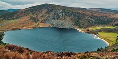 Lough Tay Guinness Lake (decovision84) Tags: wicklow mountains lough lake tay guinness co sony a6500 18105mm long exposure windy afternoon pano stitch panoramic ireland beautiful irish daily winter january fresh day shote