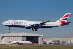 British Airways - Boeing 747-436 G-CIVC @ London Heathrow (Shaun Grist) Tags: gcivc ba britishairways speedbird jumbo 747 shaungrist landing 27l lhr egll london londonheathrow heathrow airport aircraft aviation aeroplanes airline avgeek
