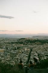 A T H E N S (Kathleen Vtr) Tags: greece athens cityscape grain bokeh 35mm analog film summer explore travel landscape sunset