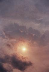 (mari-ann curtis) Tags: 35mm autumn 2017 red sun film colour hurricaneophelia sky clouds phenomenon pink orange shadow fiery dust eerie light dark day nostalgia memories