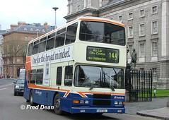 Dublin Bus RA282 (96D282). (Fred Dean Jnr) Tags: april2005 dublin dublinbus busathacliath dublinbusbluecreamlivery volvo olympian alexander r collegegreendublin dbrook ra282 96d282 dublinbusroute14a n729jno