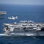 USMC MV-22 Osprey lands aboard USS John C. Stennis thumbnail