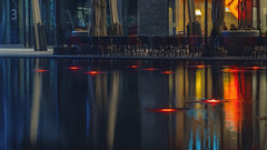 Milano Lambrate colorful water reflection night scene Kopie (Dirk Buse) Tags: milano mailand night city nacht stadt farbe color colorful scape stimmung atmosphäre atmosphere light reflektion reflection bunt wasser spiegelung mft m43 mu43 olympus