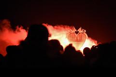 Burning The Clocks 2018 (Sean Sweeney, UK) Tags: burning clocks burningtheclocks brighton 2018 night low light christmas xmas east sussex same sky samesky nikon d750 dslr high iso heart fire burn shadow shadows silhouette silhouettes