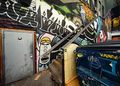 Game Not Fame mural at LoFi Gallery (Dennis Valente) Tags: streetarteverywhere usa muralist washington art contemporaryurbanart streetart seattle mural spraypaint urbanart artist 5dsr 32bit isobracketing aerosol muralart pnw painting streetartistry hdr