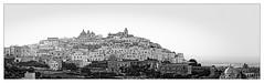 Ostuni (Jean-Louis DUMAS) Tags: white black blanc noir bw nb awesome noiretblanc village pouilles italie blackandwhite