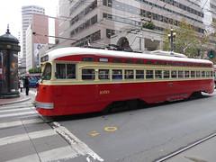 San Francisco, CA Muni F Line (army.arch) Tags: sanfrancisco california ca muni sfmta fline streetcar trolley pcc
