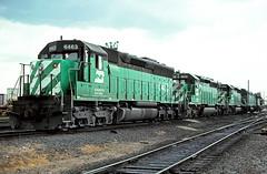 BN SD45 6463 (chuckzeiler50) Tags: bn sd45 6463 railroad emd locomotive clyde train chuckzeiler chz