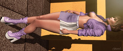today is purple (babibellic) Tags: secondlife sl portrait people poses promagic blogger beauty babigiobellic bento babibellic tableauvivant glamaffair lelutka enchanté