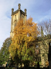 Autumn at St. Lukes (White Pass1) Tags: bombedoutchurch stlukes liverpool autumn autumncolours church