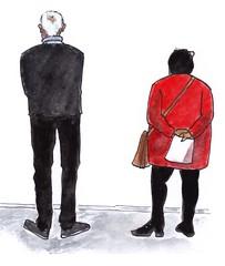 Noordbrabants Museum Den Bosch (h e r m a n) Tags: herman illustratie tekening drawing illustration dagboek diary journal mijnleven mylife back rug rucke ruggenfiguur ruckenfigur museumvisitor museumbezoeker museum denbosch noordbrabantsmuseum jansluijters dewildejaren
