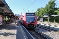 DSB-tåg, Farum 2018-07-12 (Michael Erhardsson) Tags: farum danmark station sommar juli 2018