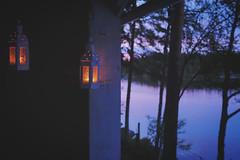 Summer nights (Klas-Herman Lundgren) Tags: gagnef gimmen midsummer sverige sweden dalarna firande midsommar sommar summer nights natt sommarnatt blue red lights lanterns lyktor uppsala dalarnaslän se