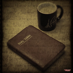 Morning Devotion (MBates Foto) Tags: availablelight bible bokeh book coffee color cup encouragement encouraging existinglight indoors inspiration inspirational motivation nikkorlens nikon nikond810 nikonfx stilllife textures spokane washington unitedstates 99203