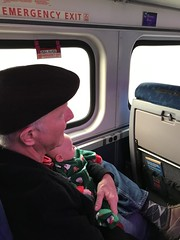 "Grandpa Miller Holds Luc on the Polar Express • <a style=""font-size:0.8em;"" href=""http://www.flickr.com/photos/109120354@N07/45527639125/"" target=""_blank"">View on Flickr</a>"