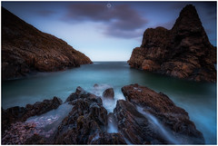 Old Faithful (Augmented Reality Images (Getty Contributor)) Tags: nisifilters benro canon cliffs clouds coastline landscape longexposure morayshire portknockie rocks scotland seascape sunset water waves winter