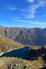 Lago di Costabrunella (Tabboz) Tags: montagna lagorai lago autunno prati nuvole sentiero escursione cielo erba porfido acqua panorama sole