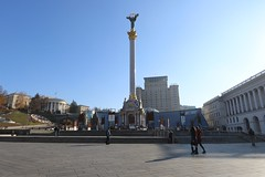 Maidan square, Kiev. Ukraine
